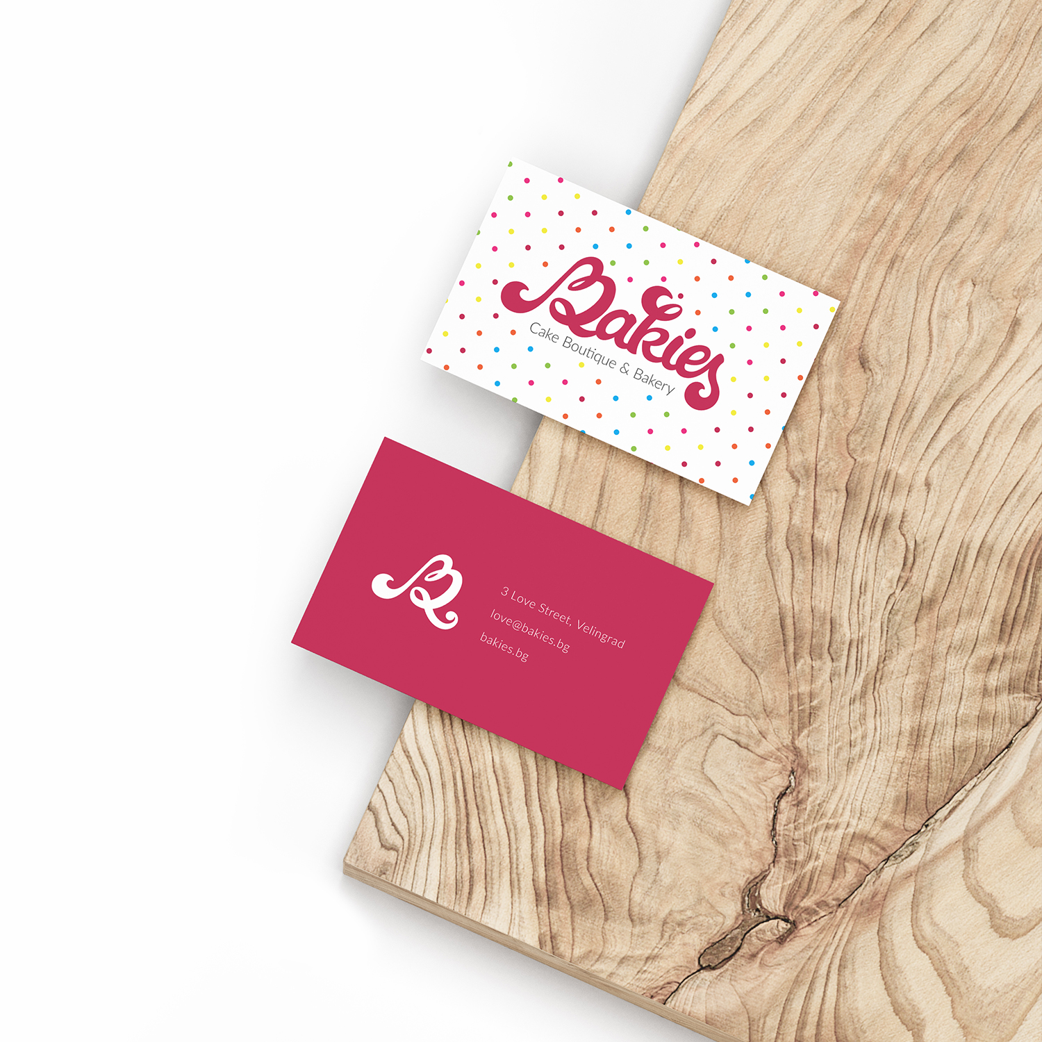 Boutique bakery visual identity